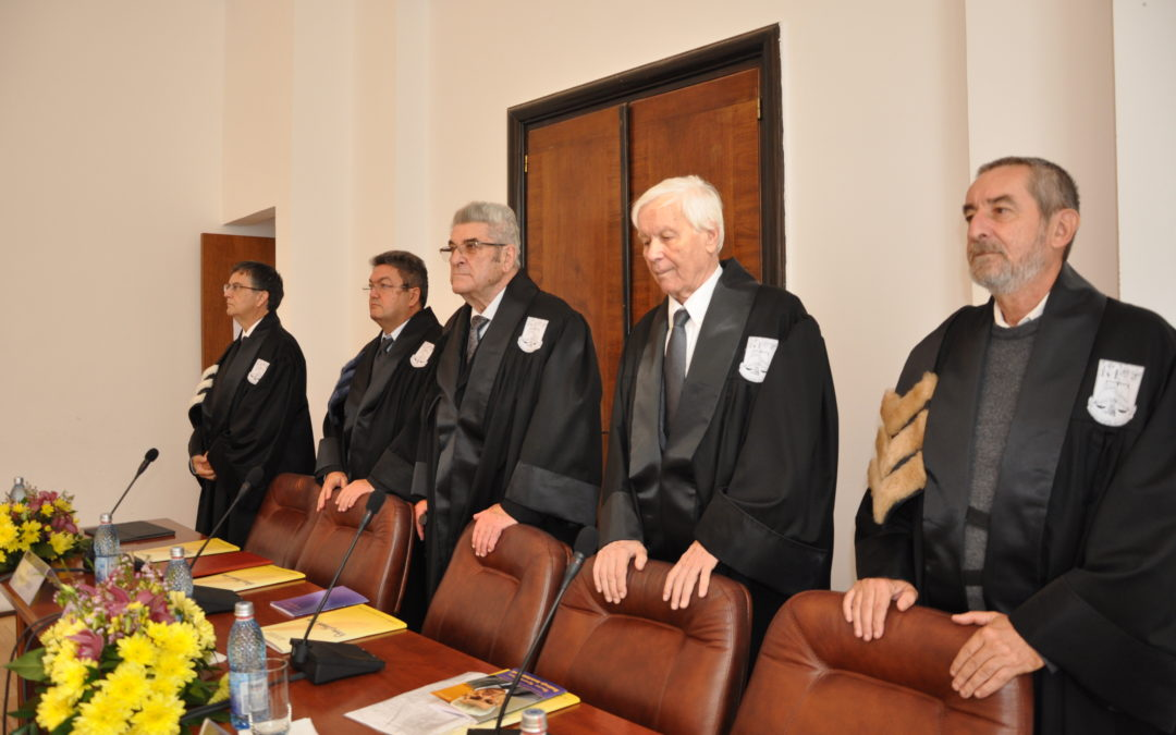 Romanistul Radivoje Konstantinović, Doctor Horis Causa al Universității din București
