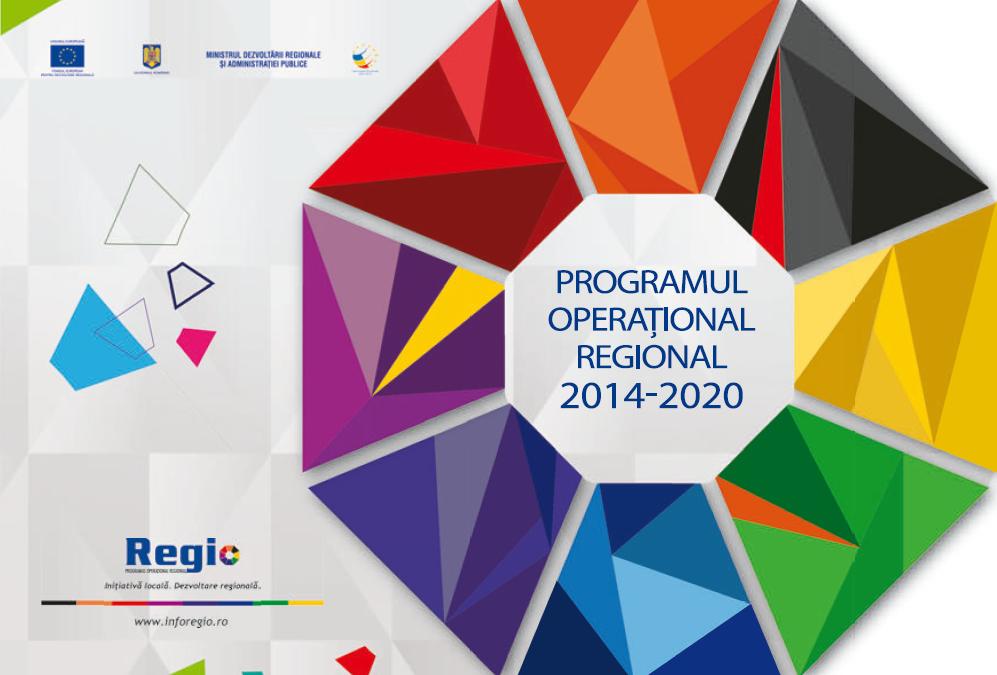 Programul operaţional regional 2014-2020 – apel la proiecte