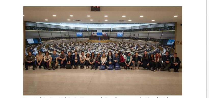 O nouă ediție a practicii în instituții europene la Bruxelles pentru studenții Facultății de Geografie