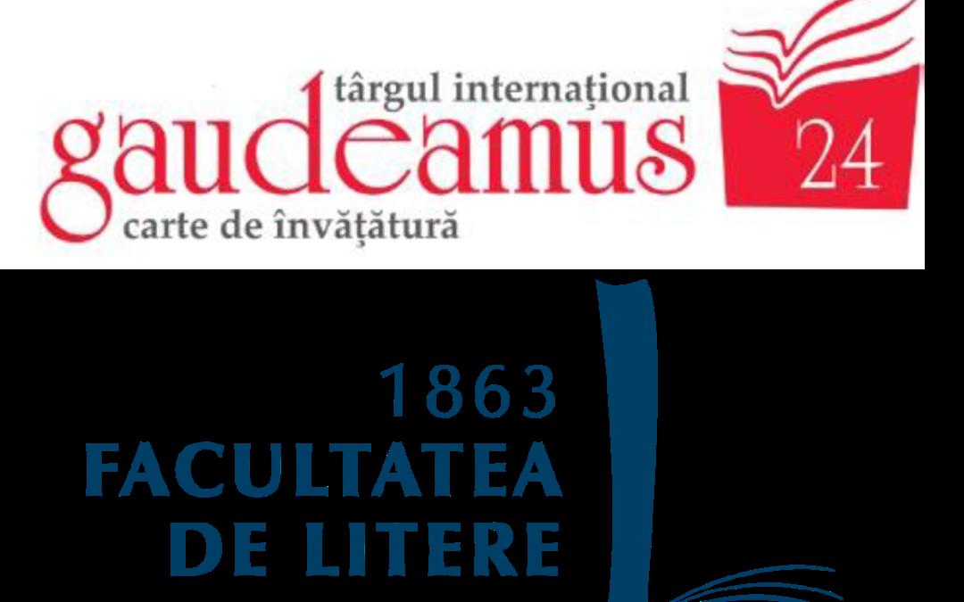 Caravană…. simultană. EUB la Târgul Internațional Gaudeamus 2017 și la Facultatea de Litere