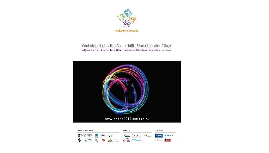 """Abordările inovative ale educației STEM,  tema Conferinței Naționale a Comunității """"Educație pentru Științe"""""""