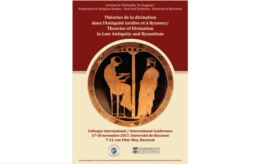 """Conferinţă internaţională """"Theories of Divination in Late Antiquity and Bizantium"""" la Facultatea de Limbi și Literaturi Străine"""
