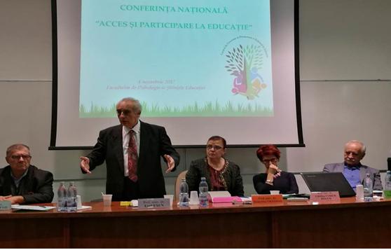 """Conferința națională """"Acces și participare la educație"""" la Facultatea de Psihologie și Științele Educației a Universității din București"""