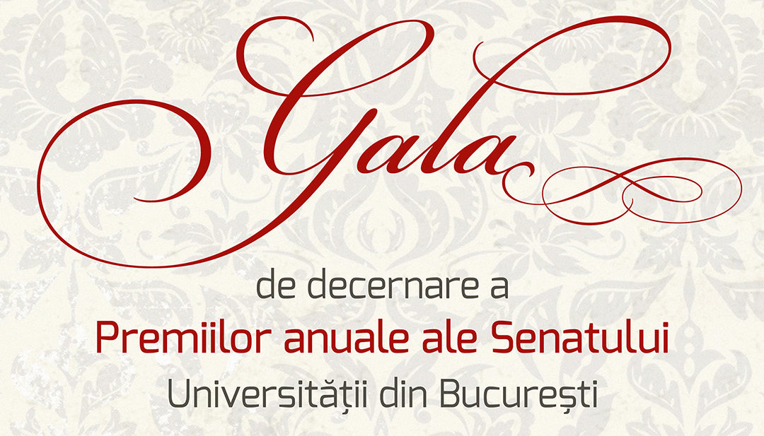 Gala Premiilor Senatului Universității din București