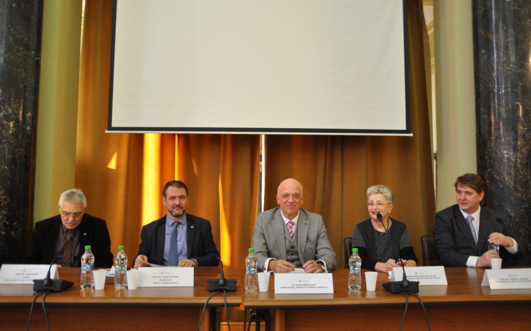 E.S. Cord Meier-Klodt, ambasadorul Germaniei în România, prezent la ceremonia de start a Săptămânii Culturii Germane