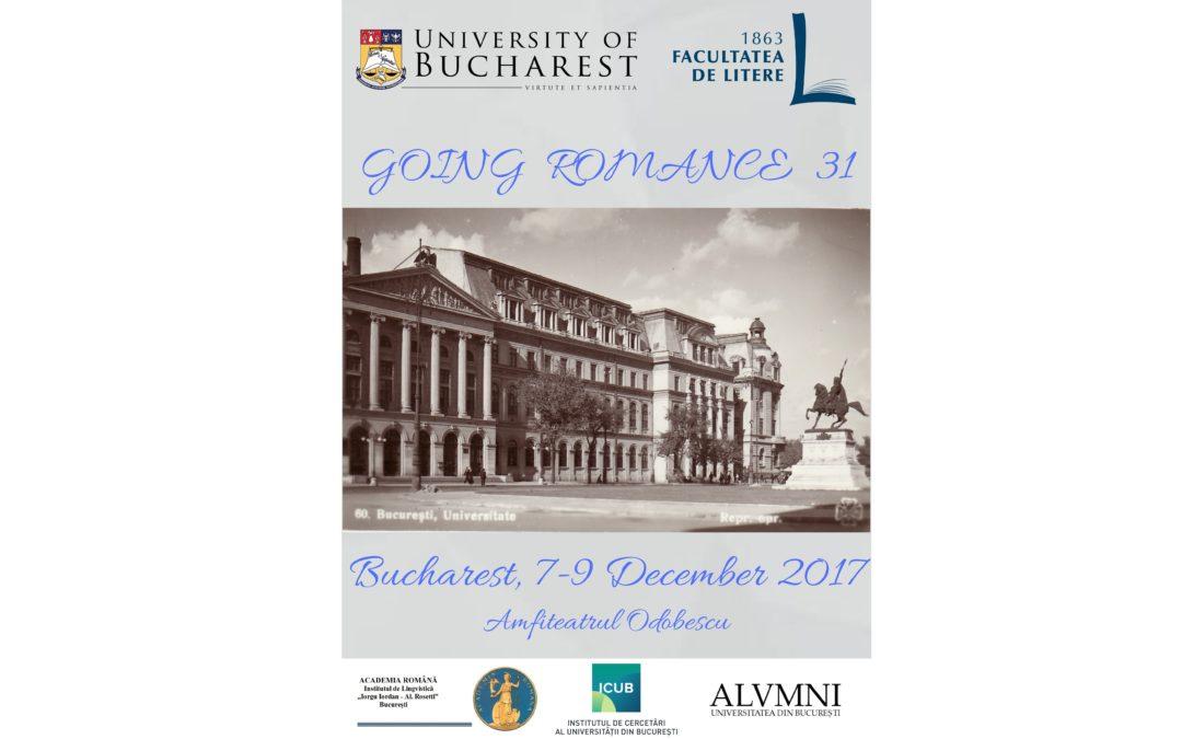 """Prof. Adam Ledgeway, profesor la Universitatea Cambridge, invitat la cea de-a 31-a ediție a conferinței internaționale de lingvistică romanică """"Going Romance"""""""