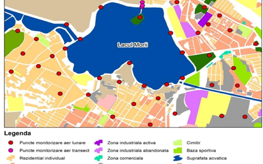 Serviciile ecosistemice asociate lacurilor urbane, investigate de cercetătorii Centrului de Cercetare a Mediului și Efectuare a Studiilor de Impact din cadrul Universității din București