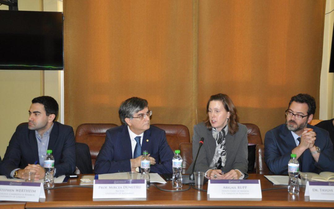 Universitatea din București a dat startul evenimentelor organizate cu prilejul sărbătoririi Centenarului Marii Uniri de la 1918