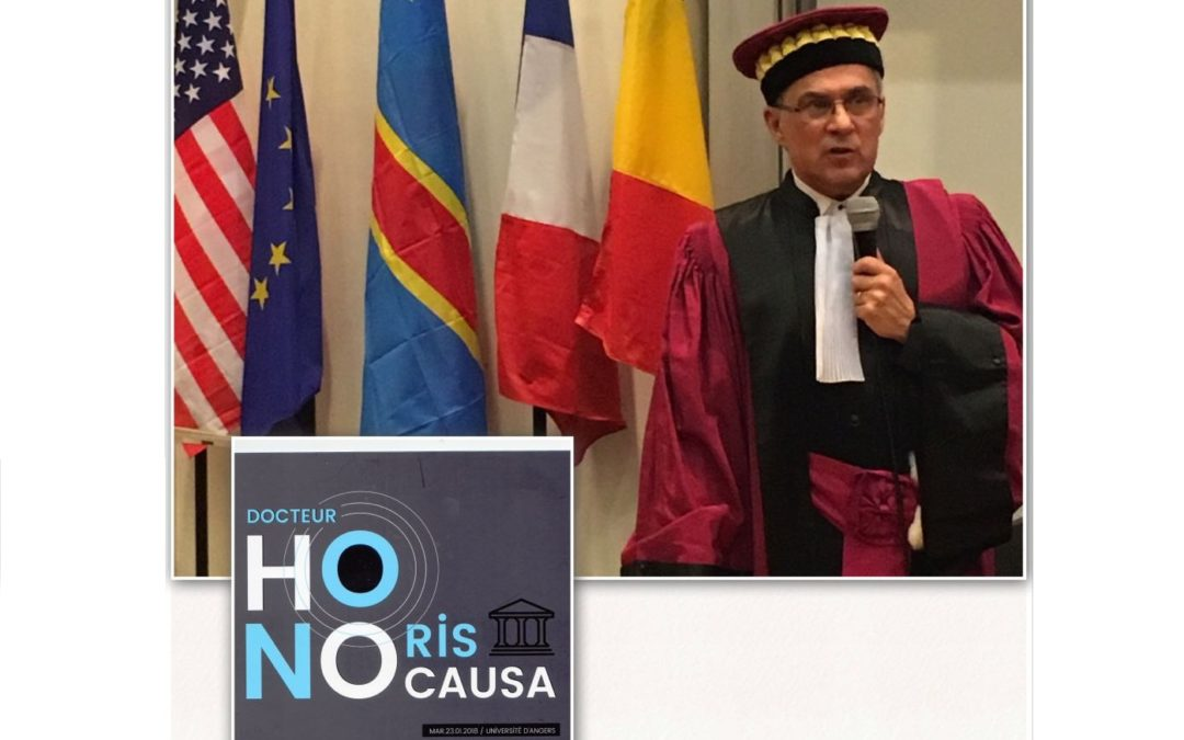 Academicianul Marius Andruh, Doctor Honoris Causa al Universității din Angers