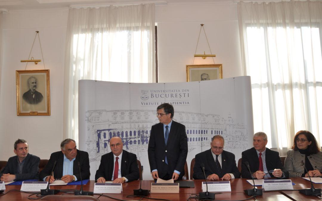 Parteneriat cu institutele de fizică de pe Platforma Măgurele pentru dezvoltarea cercetării științifice