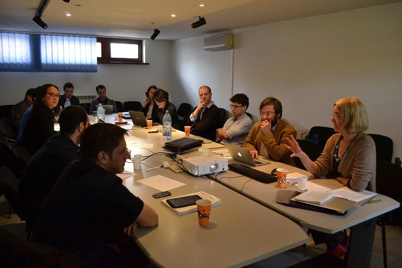 """Lunchtime Seminar cu tema """"Byzantine adolescence: concept and contexts"""" la Secțiunea de Științe Umaniste a ICUB"""