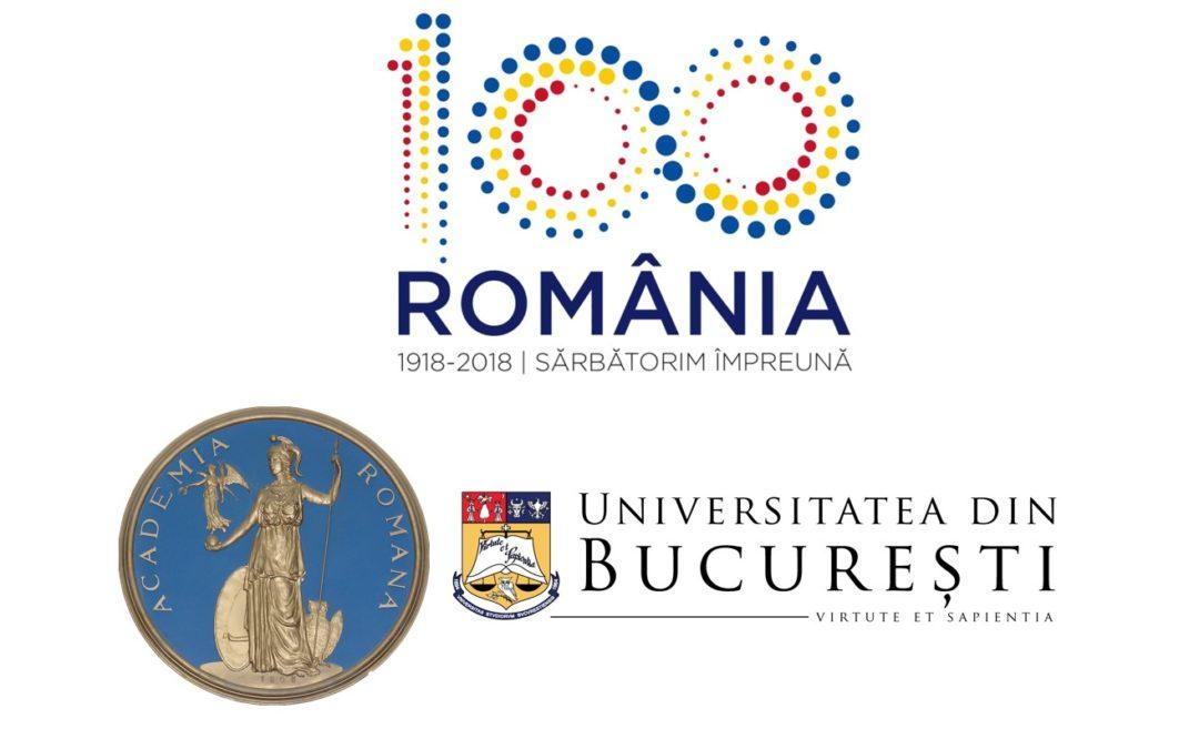 """Universitatea din București, partener al Ciclului de conferințe """"Istoria matematicii şi a informaticii în România"""" organizat de Academia Română cu prilejul Centenarului Marii Uniri de la 1918"""