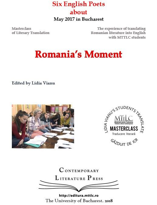 "Lansarea volumului ""Six English Poets about Romania's Moment"" la Contemporary Literature Press"