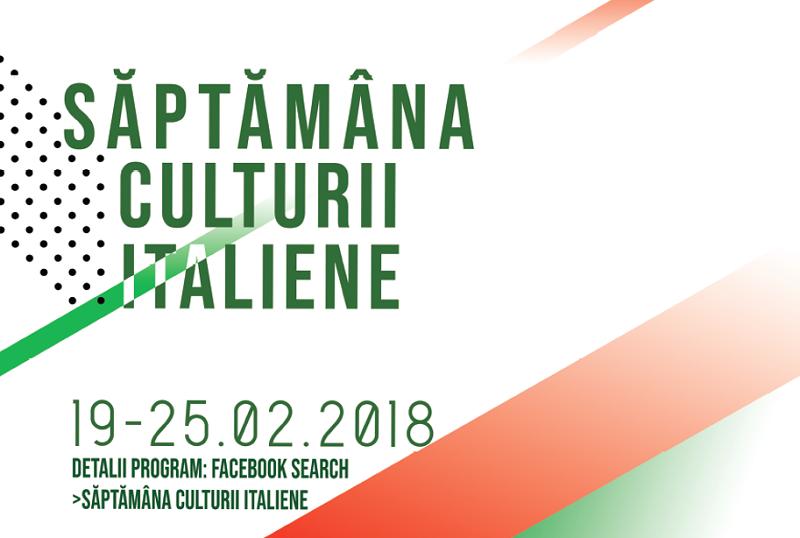 Săptămâna Culturii Italiene la Universitatea din București